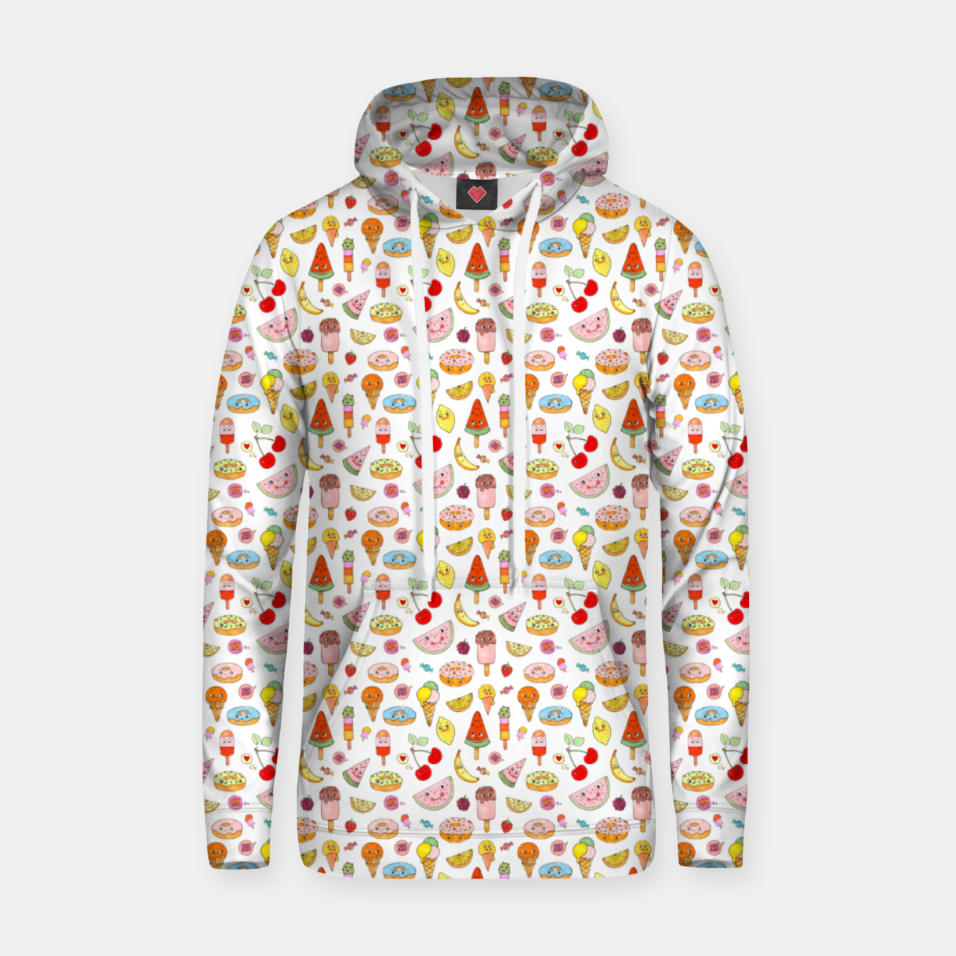 Image of Donuts and Ice Cream – Cotton hoodie - Live Heroes