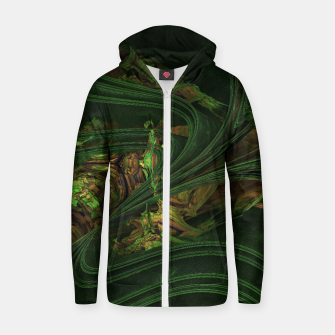 Thumbnail image of Gravity Cotton zip up hoodie, Live Heroes