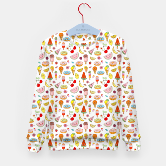 Thumbnail image of Donuts and Ice Cream – Kid's sweater, Live Heroes