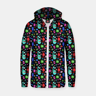 Monsters of the Universe – Cotton zip up hoodie thumbnail image