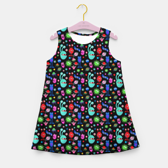 Monsters of the Universe – Girl's summer dress thumbnail image