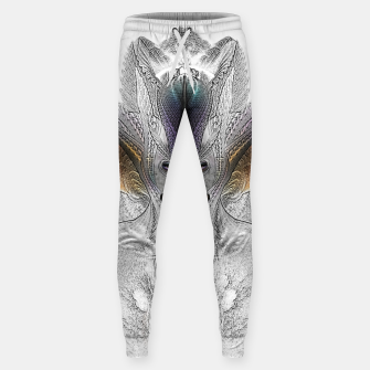 Thumbnail image of Taidushan Sai Faux Painting Cotton sweatpants, Live Heroes