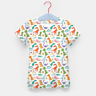 Thumbnail image of Dino Families – Kid's t-shirt, Live Heroes