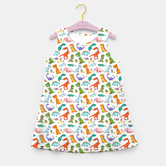 Thumbnail image of Dino Families – Girl's summer dress, Live Heroes