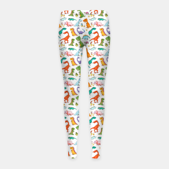 Thumbnail image of Dino Families – Girl's leggings, Live Heroes