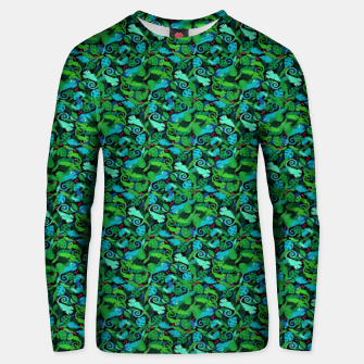 Thumbnail image of Chameleons in the Forest – Cotton sweater, Live Heroes