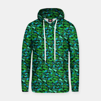 Thumbnail image of Chameleons in the Forest – Cotton hoodie, Live Heroes