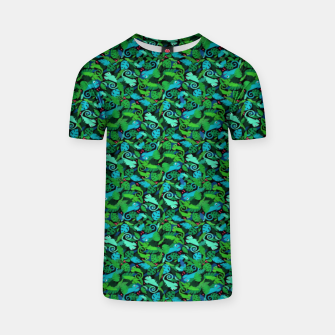 Thumbnail image of Chameleons in the Forest – T-shirt, Live Heroes