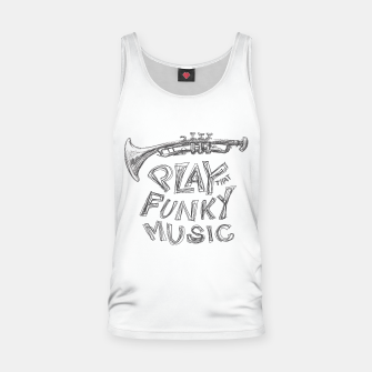 Thumbnail image of Funky Tank Top, Live Heroes