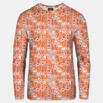 Foxes in Love Cotton sweater thumbnail image