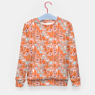 Foxes in Love Kid's sweater thumbnail image