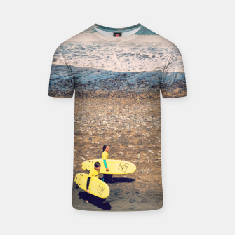 Imagen en miniatura de A couple of young surfers Camiseta, Live Heroes