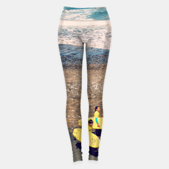 Imagen en miniatura de A couple of young surfers Leggings, Live Heroes