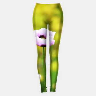 Thumbnail image of Pink poppy Leggings, Live Heroes