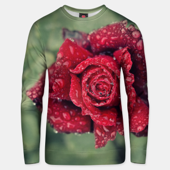 Thumbnail image of Red rose Sudadera de algodón, Live Heroes