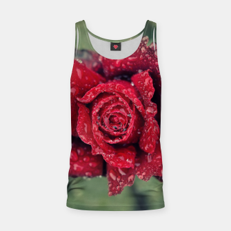 Thumbnail image of Red rose Camiseta de tirantes, Live Heroes