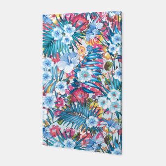 Flower Happiness Canvas miniature