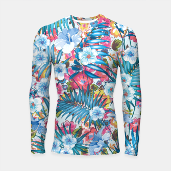 Flower Happiness Longsleeve rashguard  miniature