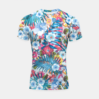 Flower Happiness Shortsleeve rashguard miniature