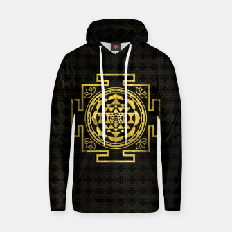 Thumbnail image of Golden Sri Yantra  / Sri Chakra Cotton hoodie, Live Heroes