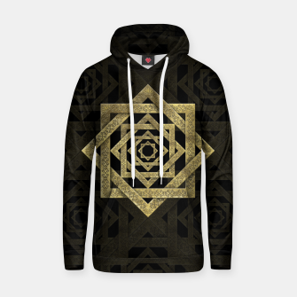 Thumbnail image of Golden Star of Lakshmi - Ashthalakshmi  Cotton hoodie, Live Heroes
