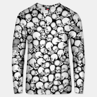 Gothic Crowd B&W Cotton sweater thumbnail image