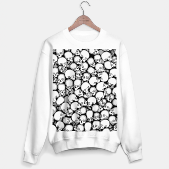 Gothic Crowd B&W Sweater regular thumbnail image