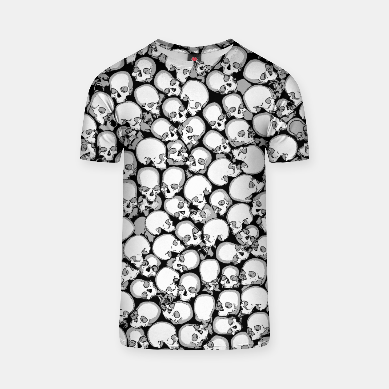 Image of Gothic Crowd B&W T-shirt - Live Heroes