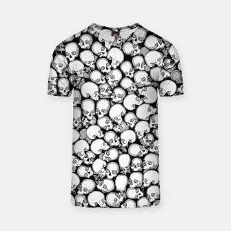 Thumbnail image of Gothic Crowd B&W T-shirt, Live Heroes