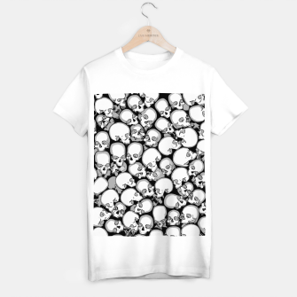 Gothic Crowd B&W T-shirt regular thumbnail image