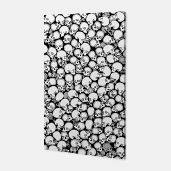 Gothic Crowd B&W Canvas thumbnail image