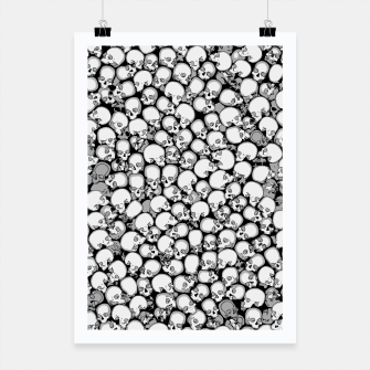 Thumbnail image of Gothic Crowd B&W Poster, Live Heroes