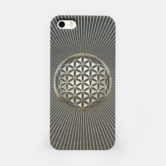 Thumbnail image of Flower of life metallic embossed iPhone Case, Live Heroes