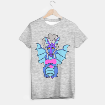 Thumbnail image of love dragon T shirt - Dramatic Dragon range, Live Heroes