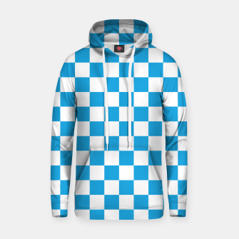 Thumbnail image of Oktoberfest Bavarian Large Blue and White Checkerboard Hoodie, Live Heroes