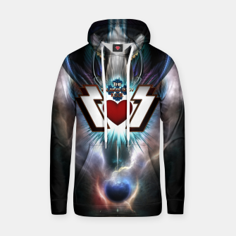 Thumbnail image of The Thunder Gods Rock Cotton hoodie, Live Heroes