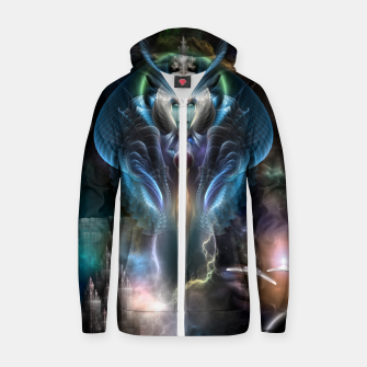 Thumbnail image of Thera Queen Of The Galaxy Cotton zip up hoodie, Live Heroes