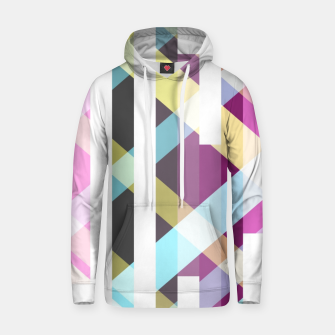 Thumbnail image of Pattern Glitch  Cotton hoodie, Live Heroes