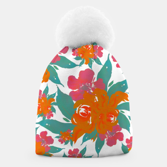 """Thumbnail image of """"VIVID COLORS TROPICAL CLASSIC FLORAL"""" Gorro, Live Heroes"""