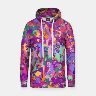 Thumbnail image of Colorful Abstract  Cotton hoodie, Live Heroes