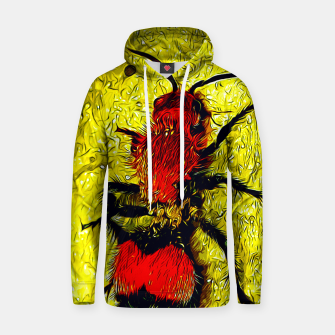 Thumbnail image of gxp velvet ant wasp dasymutilla vector art Cotton hoodie, Live Heroes