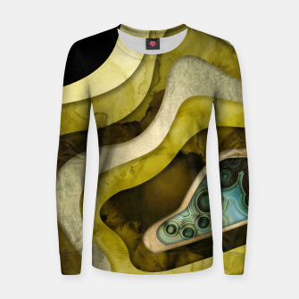 Thumbnail image of Agate Abstract II Woman cotton sweater, Live Heroes