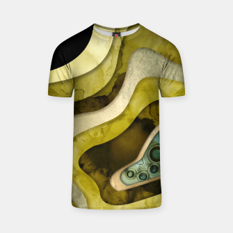 Thumbnail image of Agate Abstract II T-shirt, Live Heroes