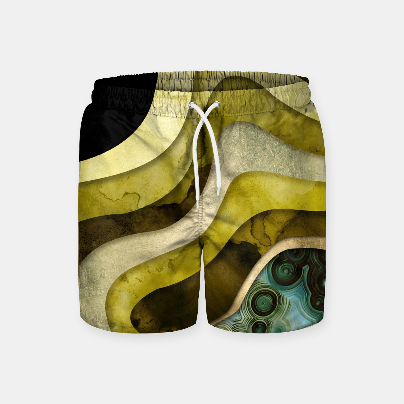 Image of Agate Abstract II Swim Shorts - Live Heroes