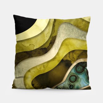 Thumbnail image of Agate Abstract II Pillow, Live Heroes