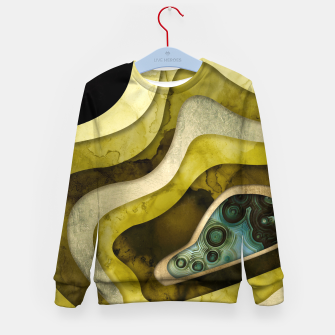 Thumbnail image of Agate Abstract II Kid's sweater, Live Heroes