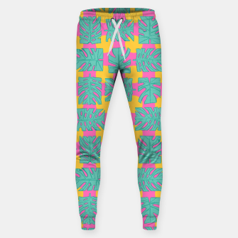 Thumbnail image of Party palms Cotton sweatpants, Live Heroes