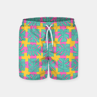 Thumbnail image of Party palms Swim Shorts, Live Heroes