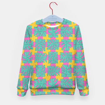 Thumbnail image of Party palms Kid's sweater, Live Heroes