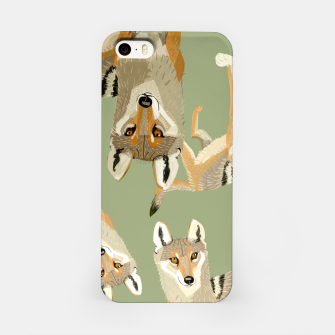 Thumbnail image of Indian Wolf Pattern Carcasa por Iphone, Live Heroes